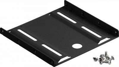 Деталь монтажна Lucom Монтажна рама (HDD) 3.5-2.5x1 HDD кріплення(піддон) чорний(25.02.5036)
