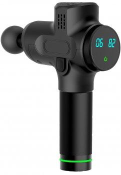 Портативный ручной массажер для тела Fascial Gun FS-755 Pro Health Мышечный Black Original