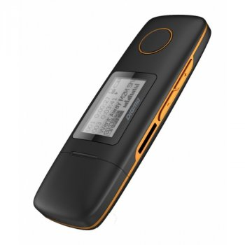 MP3-плеер Digma U3 - 4Gb Black-Orange