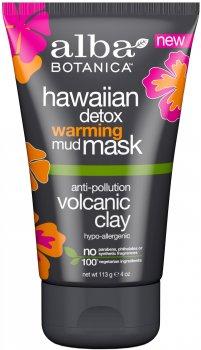 Согревающая грязевая детокс маска для лица Alba Botanica Гавайская 113 г (724742009519)