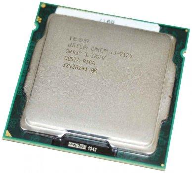 Процесор LGA 1155 Core i3 2120 2/(4)x3.3 GHz/3 MB Б/У