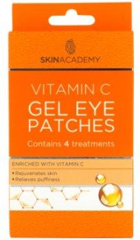 Патчі під очі Skin Academy Vitamin C гелеві 4 пари (5031413989915)