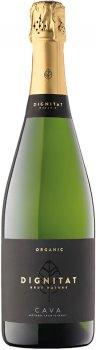 Вино игристое Dignitat Cava Nature Organic белое брют 0.75 л 11.5% (410644620441)
