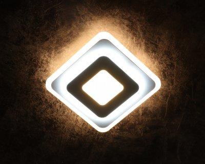 Світильник стельовий Led (4х20х20 див.) Матовий білий (YR-2234/200-mg)