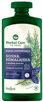 Освежающий гель-масло для ванны и душа Farmona Herbal Care Сосна + мед 330 мл (5900117004265)