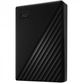 """Накопичувач зовнішній HDD 2.5"""" USB 4.0 TB WD My Passport Black (WDBPKJ0040BBK-WESN)"""