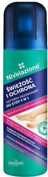 Дезодорант для ног Farmona Nivelazione Свежесть и комфорт 4в1 180 мл (5900117004531)