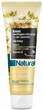 Зволожувальний і поживний крем для рук і нігтів Farmona Nivelazione Skin Therapy Natural з олією льону 100 мл (5902082210993)