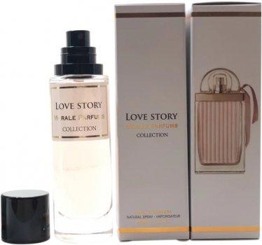 Парфюмированная вода для женщин Мораль Парфюм Love Story версия Chloe Love Story Eau Sensuelle 30 мл (3766556496212)