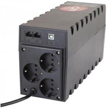 Джерело безперебійного живлення Powercom RPT-1000AP Schuko (RPT-1000AP SCHUKO)