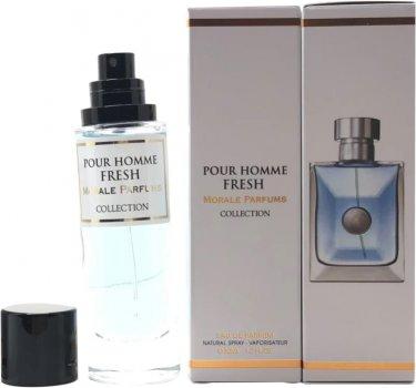 Парфюмированная вода для мужчин Мораль Парфюм Pour Homme Fresh 30 мл (3775556496214)