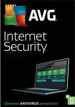 Антивирус AVG Internet Security 1 ПК на 1 год (электронная лицензия) (AVG-IS-1-1Y)