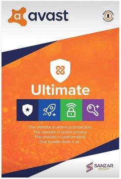 Антивірус Avast Ultimate 1 ПК на 3 роки (електронна ліцензія) (AVAST-UL-1-3Y)