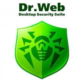Антивірус Dr. Web Security Space + Компл. захист 4 ПК 1 рік ел. ліц. (LHW-BK-12M-4-A3)