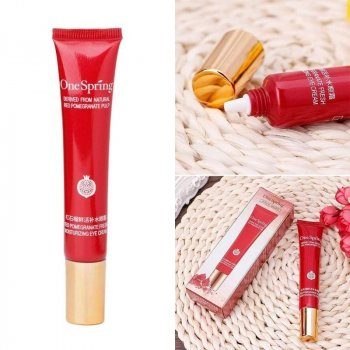 Увлажняющий крем для кожи вокруг глаз One Spring Red Pomegranate Eye Cream с экстрактом граната 20 г (10237238)