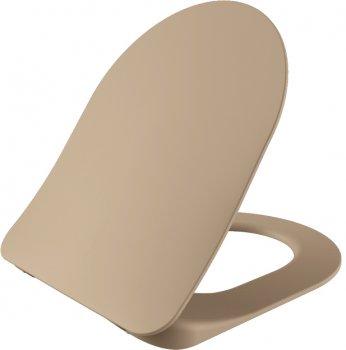 Унитаз подвесной CREAVIT Free FE320-11CM00E-0000 + сиденье Soft Close KC0903.01.0800E дюропласт капучино матовый
