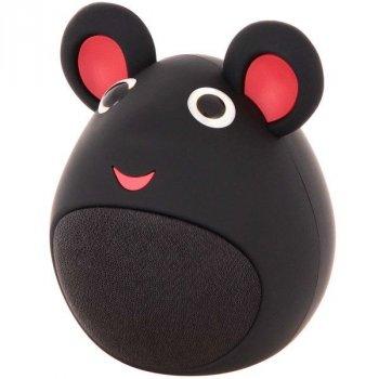 Детская портативная колонка мышка MB-M919 (Black), черная