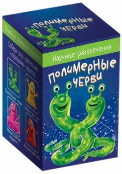 Научные развлечения Ranok-Creative Полимерные черви (12132027Р) (4823076143367)