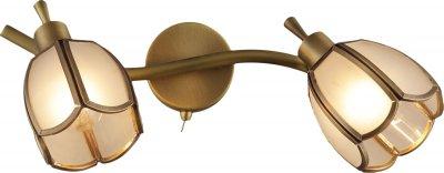 Світильник спотовий Altalusse INL-9317W-02 Golden Brass Е14 2x40 Вт