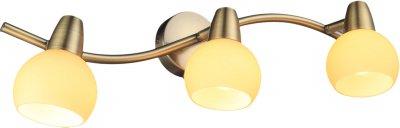 Светильник спотовый Altalusse INL-9333W-03 Antique brass Е14 3х40 Вт