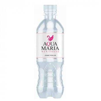 Упаковка слабогазированной столовой воды низкой минерализации Aqua Maria Sparkling BHMW 0.5 л x 12 шт