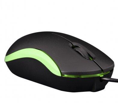 Мышь Frime FM-010 Black/Green USB