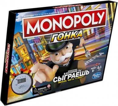 Настільна гра Hasbro Монополія Перегони (E7033_121)
