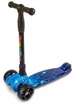 Самокат Scooter Smart Космос Складна ручка світяться колеса (SD 680104870)
