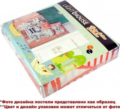 Комплект постільної білизни LightHouse Ranforce Fish Girl 100х150 (2200000550620)