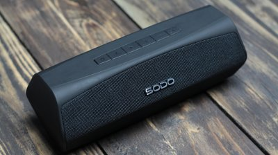 Бездротова Bluetooth колонка SODO L6-LIFE Black (450049)