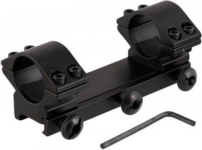 Кріплення для оптики Grand Way Кр-2006-H=10 мм — d=25.4 мм — Weaver (Кр-2006-H)