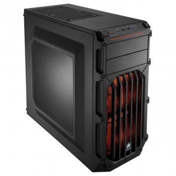 Корпус Corsair Carbide SPEC-03 Orange LED Black (CC-9011054-WW) без БЖ