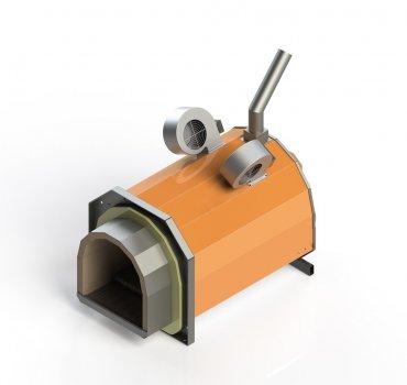 Факельний пелетний пальник ECO-PALNIK UNI-MAX 1500 КВТ (100-281)