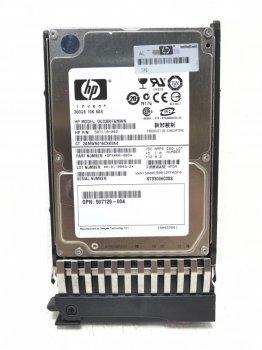 Жорсткий диск HDD HP 300GB 10K SFF SAS 6GB - Festplatte - Serial Attached SCSI (SAS) (DG0300FAMWN) Refurbished
