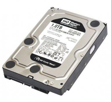 Жорсткий диск WD 1TB SATA 3.5 in 6GBPS 7.2 K HDD (WD1002FAEX) Refurbished
