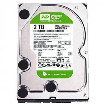 "Жорсткий диск WD 2TB 7.2 K 3.5"" SATA Hard Drive (WD20EARX) Refurbished"
