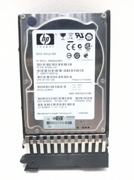 Жорсткий диск HP 500GB 6G SAS 7.2 K SFF Hard drive (MM0500FAMYT) Refurbished