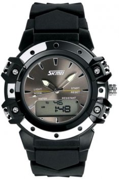Чоловічий годинник Skmei 0821 Black BOX (0821BOXBK)