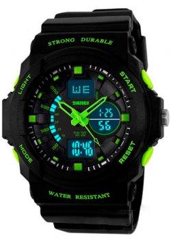 Чоловічий годинник Skmei 1061 Green BOX (1061BOXGR)