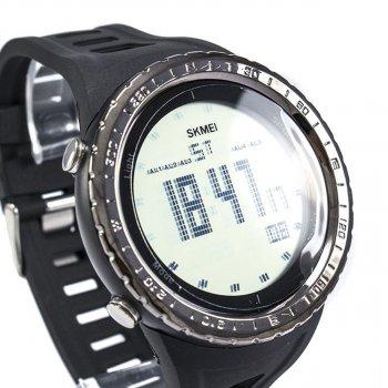 Чоловічий годинник Skmei 1246 Black BOX (1246BOXBK)