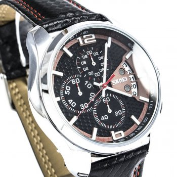 Мужские часы Skmei 9106 Red BOX (9106BOXRD)