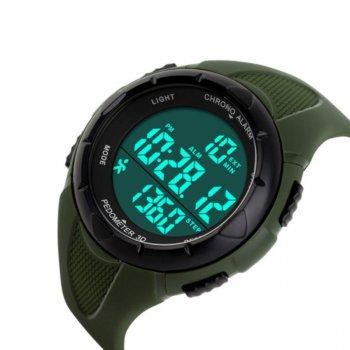 Жіночий годинник Skmei 1108 Army Green BOX (1108BOXAG)