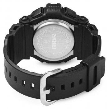 Чоловічий годинник Skmei 1116 Black BOX (1116BOXBK)