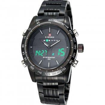 Чоловічий годинник NaviForce Army BBW-NF9024 (9024BBW)