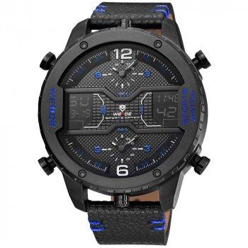 Мужские часы Weide All Black WH6401B-4C (WH6401B-4C)