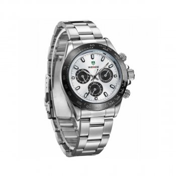 Мужские часы Weide White WH3309-2C SS (WH3309-2C)