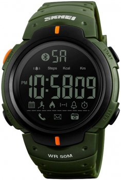Чоловічий годинник Skmei 1301 Green BOX (1301BOXGR)