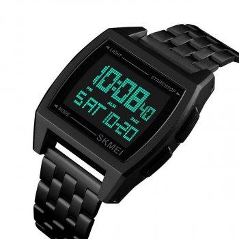 Чоловічий годинник Skmei 1368 Black BOX (1368BOXBK)