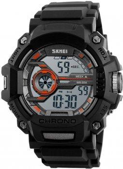 Чоловічий годинник Skmei 1233 Orange BOX (1233BOXOR)
