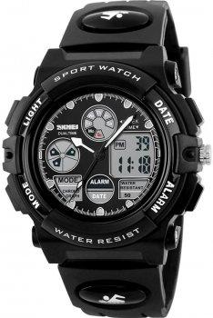 Мужские часы Skmei 1163 Black BOX (1163BOXBK)